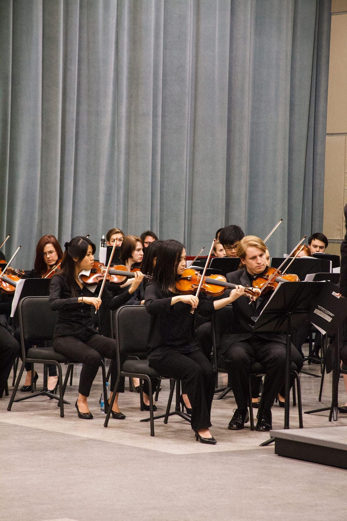 The George Mason University Orchestra. Photo by Michelle Stella Riordan/Photography by Exposure.