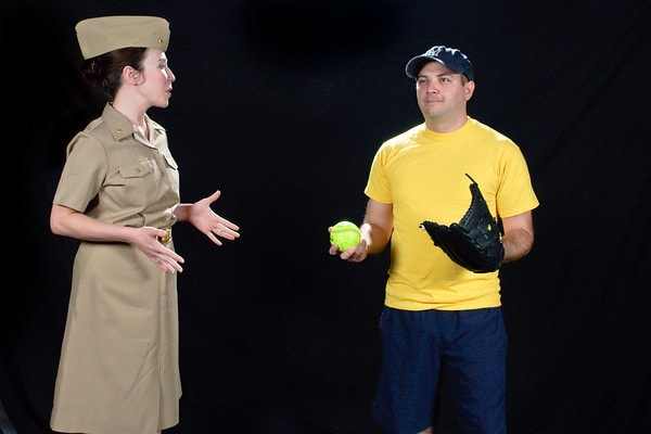 Erin Hill and Paul Valleau. Photo courtesy of The Colonial Players.