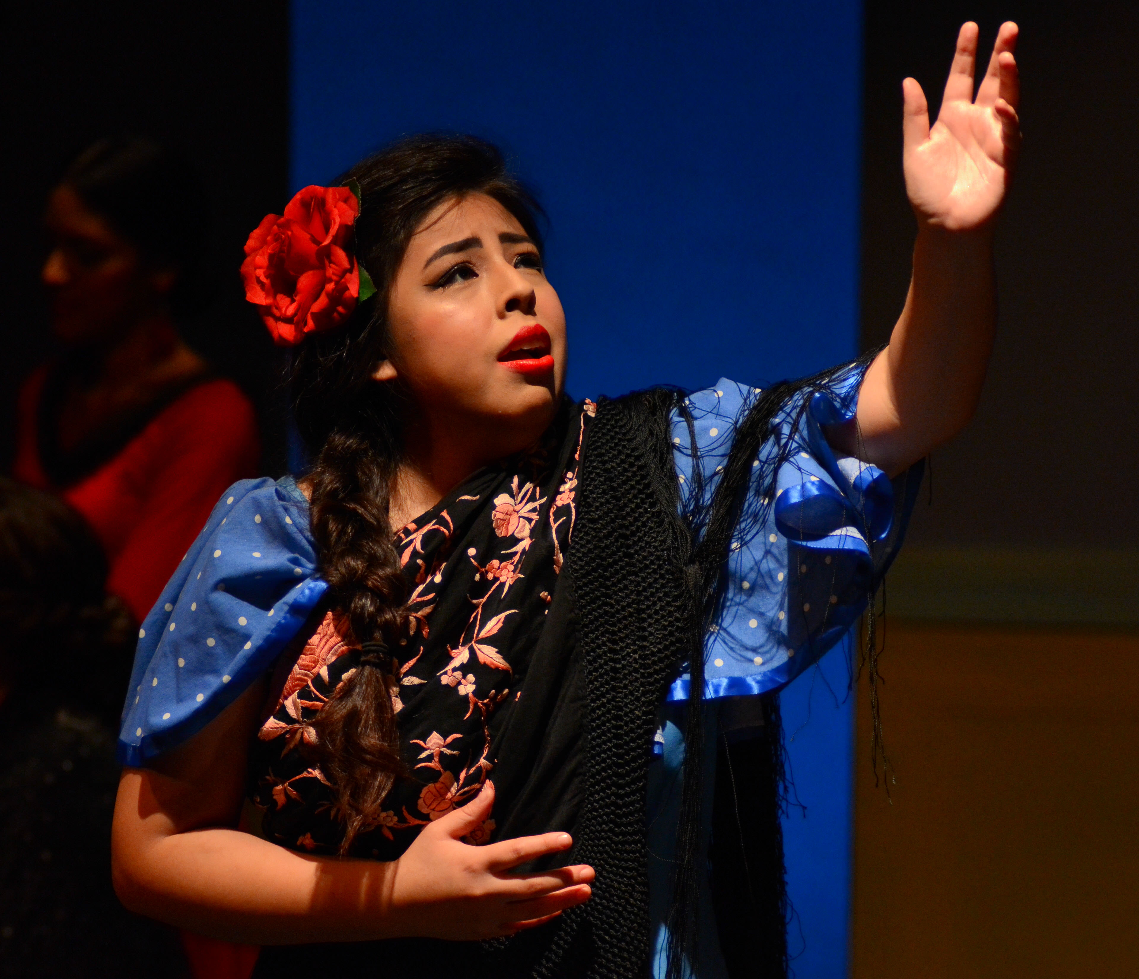 Salud (Shaina Martinez). Photo by Paul Wegner.