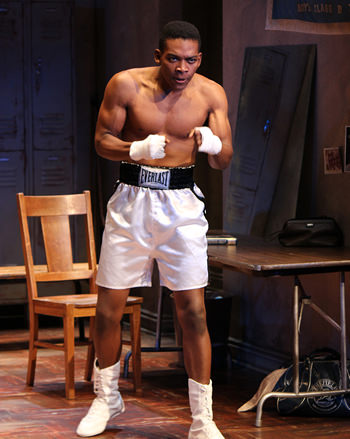 Eddie Ray Jackson (Muhammad Ali). Photo by Kevin Berne.