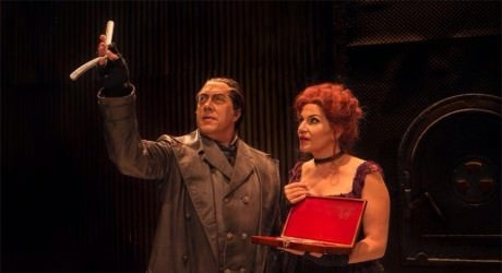 Scene from Sweeney Todd. Courtesy of Virginia Opera Company.