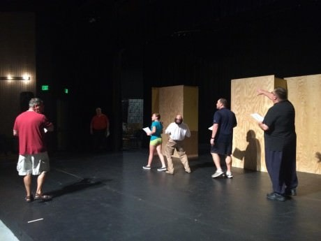 'Wizard of Oz' rehearsal. Courtesy of Charm City Players.