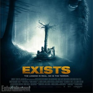 'Exists' poster courtesy of Haxan Films.