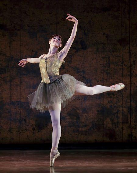 Tiler Peck in 'Little Dancer.' Photo by Paul Kolnik.