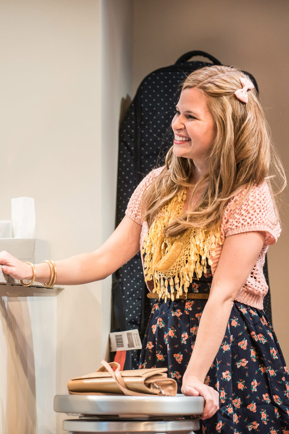 Maggie Erwin (Melody) in 'Bad Jews.' Photo by Teddy Wolfe.