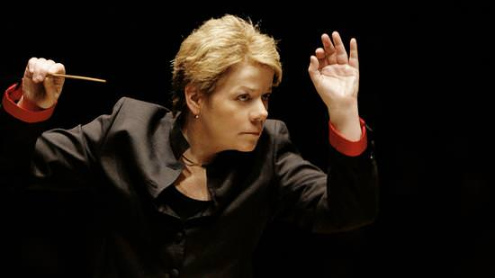 Marin Alsop. Photo courtesy of The Baltimore Symphony Orchestra.