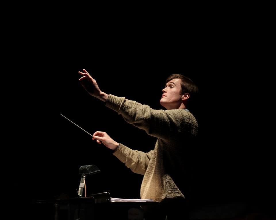 Conductor Nathan Blair.