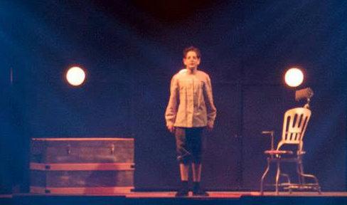"Simon Diesenhaus (Toby)  singing ""Not While I'm Around."" Photo by CYM Media & Entertainment."