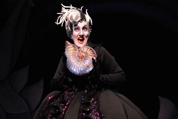 Donna Migliaccio as Ursula. Photo by Stan Barouh.