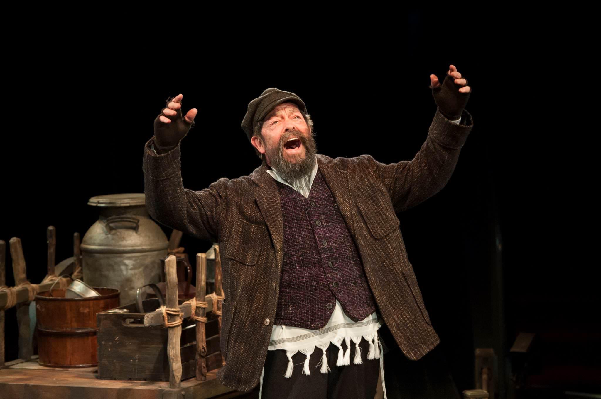 Jonathan Hadary (Tevye). Photo by Margot Schulman.