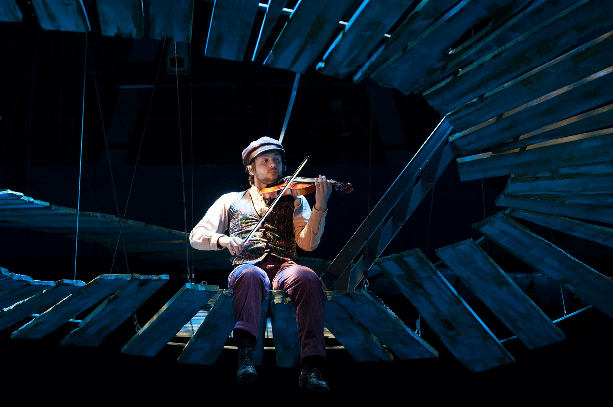 Alex Alferov (Fiddler). Photo by Margot Schulman.