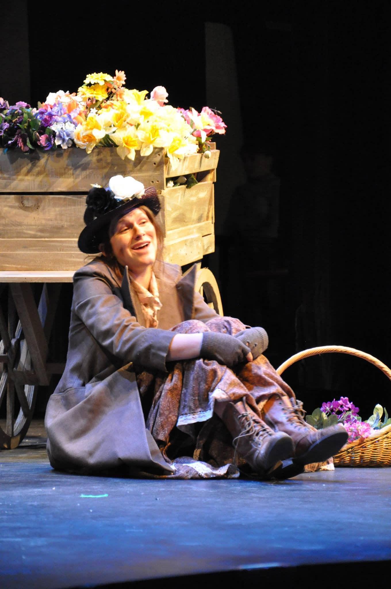 Eliza Doolittle (Cara Bachman). Photo by Elli Swink.