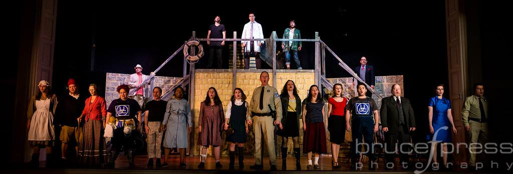 The cast of 'Urinetown the Musical.' Photo by Bruce F. Press Photography.