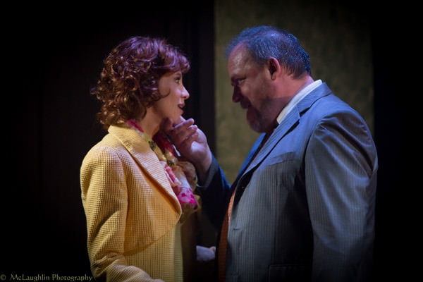 Lisa Carrier Baker (     ) and Chris Gillespie. Photo by Mark McLaughlin.