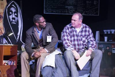 David Lamont Wilson and Elliott Bales. Photo by Teresa Castracane.