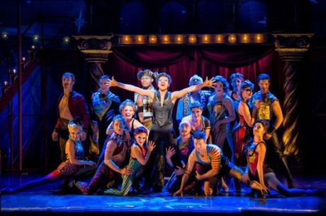 Sasha Allen and the cast of 'Pippin.' Photo by Terry Shapiro.