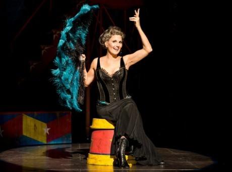 Lucie Arnaz (Berthe). Photo by Terry Shapiro.