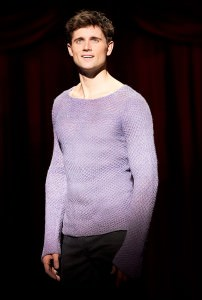 Kyle Dean Massey (Pippin). Photo by Joan Marcus.