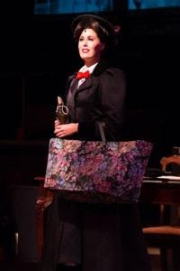 Maura Hogan (Mary Poppins). Photo by Kirstine Christiansen.