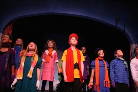 The Cast of 'A Charlie Brown Christmas.'  Photo by Jonathan Harvey.