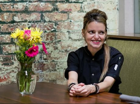 Pastry Chef Giane Cavaliere of Rogue 24.