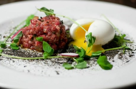 Beef Tartare from Lee Gregory and Thomas Leggett of The Roosevelt.