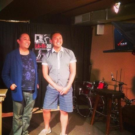 (L to R): La-Ti-Do Co-Founders Regie Cabico and Don Michael Mendoza. Photo courtesy of  Don Michael Mendoza.