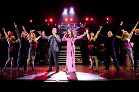 Donny and Marie Osmond and  the Ensemble. Photo by Jeremy Deputat.
