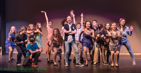 The cast of '13.' Photo by Irish Eyes Photography by Toby, LLC.