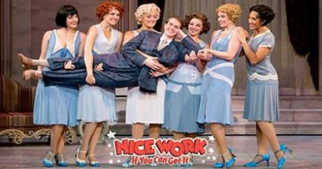 The cast of 'Nice Work If You Can Get it.'  Photo courtesy of the Warner Theatre.