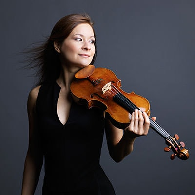 Arabella Steinbacher. Photo courtesy of The Kennedy Center. Fourth Symphony.