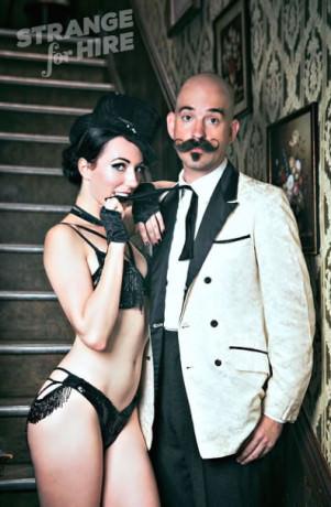 Donny Vomit and Frankie Sin. Photo by Steve Prue.