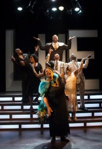 The cast of 'Bessie's Blues.' Photo by Chris Banks.