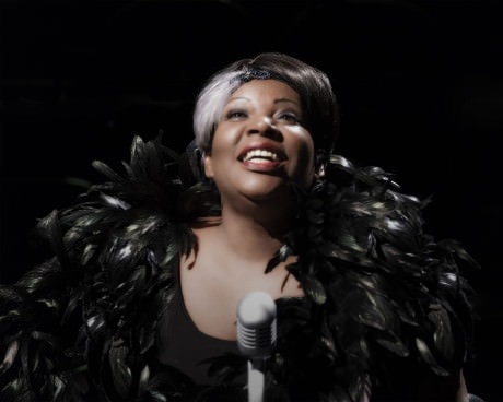 Bernardine Mitchell as Bessie Smith. Photo by Chris courtesy of MetroStage.