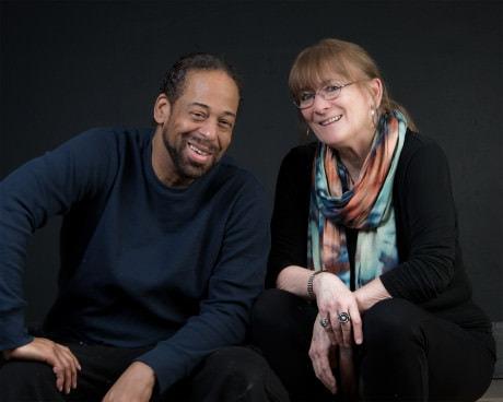 Carolyn Griffin and Thomas W. Jones II. Photo courtesy of MetroStage. Thomas W. Jones II and Carolyn Griffin. Photo courtesy of MetroStage.