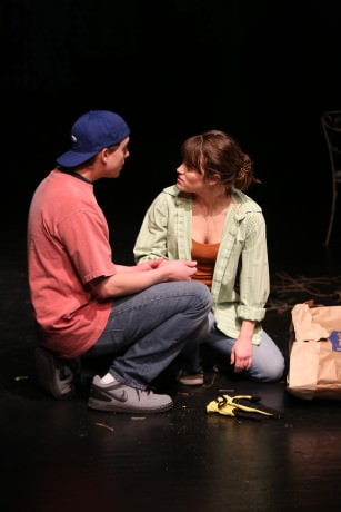 Scene from Fortune's Child. Photo by Rich Riggins.