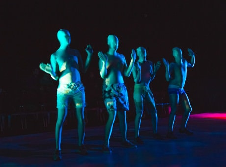 'The T Party' ensemble. Photo by Noe Todorovich Photography.