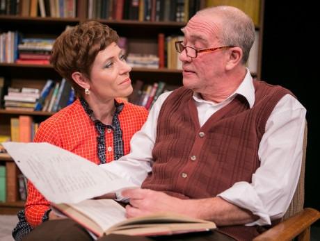 Julie-Ann Elliott (Lydia Cruttwell) and Conrad Feininger (Sebastian Cruttwell). Photo by C. Stanley Photography.