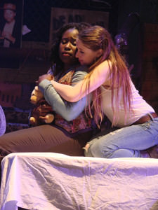 Awa Sal-Secka (Joanne) and Lyndsay Rini (Maureen). Photo courtesy of Montgomery College.