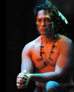 Jason Grasl as Josh in 'Cherokee.' Photo by Stan Barouh.