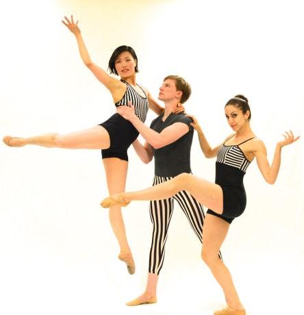 Shu-Chen Cuff, James Fredrickson, and Elizabeth Lucrezio. Photo by Ruth Judson.