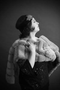 Katie McManus as Norma Desmond. Photo by Traci J. Brooks Studios.