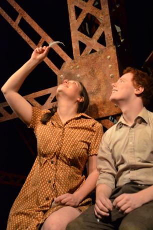 Shira Hereld and Jordan Feiner. Photo by Chris Evans.