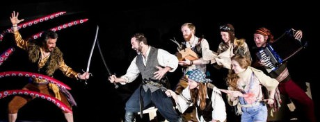 The cast of 'The Pirate Laureate and the King of the Sea,.' Photo by Wilder Photography.