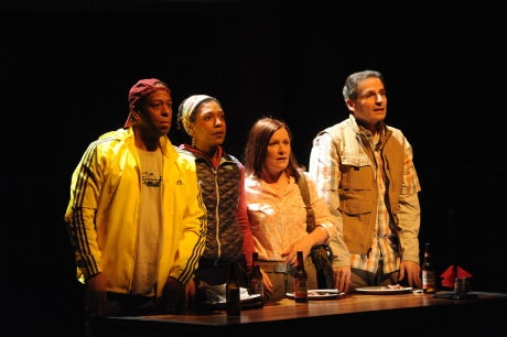 Thomas W. Jones II, Erica Chamblee, Jennifer Mendenhall, and Paul Morella. Photo by San Barouh.