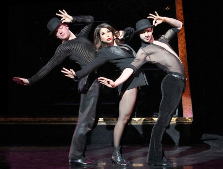 Bianca Marroquin as Roxie Hart. Photo by Jeremy Daniel.