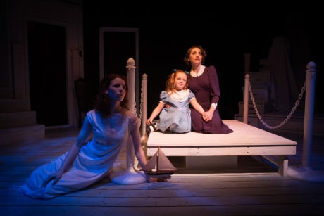 Caitlin Shea, Libby Brooke, and Susan Derry. Photo by Gary Mester, Written in Light Photography.