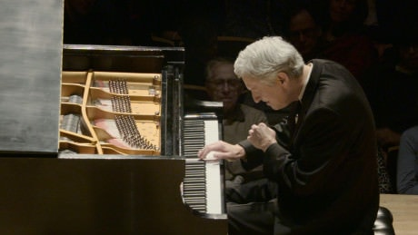 """Pianist Brian Ganz with """"The Art of the Mazurka,"""" presented by the National Philharmonic at the Strathmore.  February 7, 2015.  Photo by  Jay Mallin."""