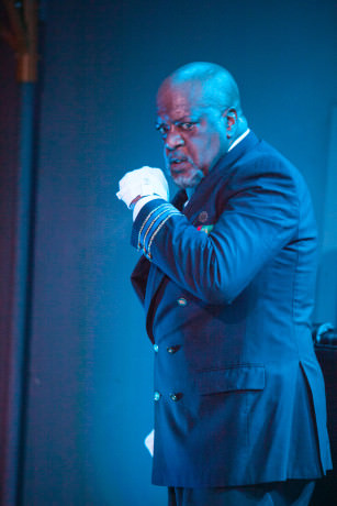 Chuck Young as Othello. Photo by C. Stanley Photography.