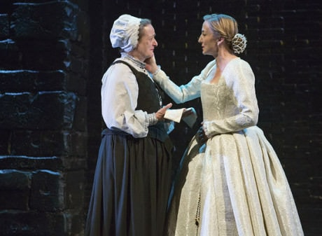 Nancy Robinette (Hanna Kennedy) and Kate Eastwood Norris (Mary Stuart). Photo by Teresa Wood.